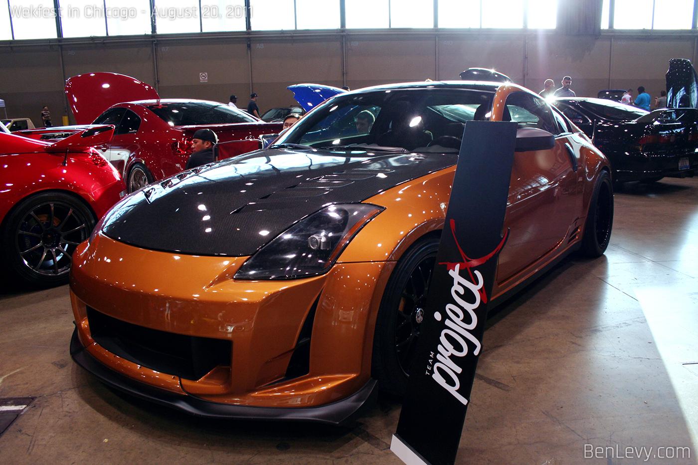 Orange Nissan 350z Benlevy Com