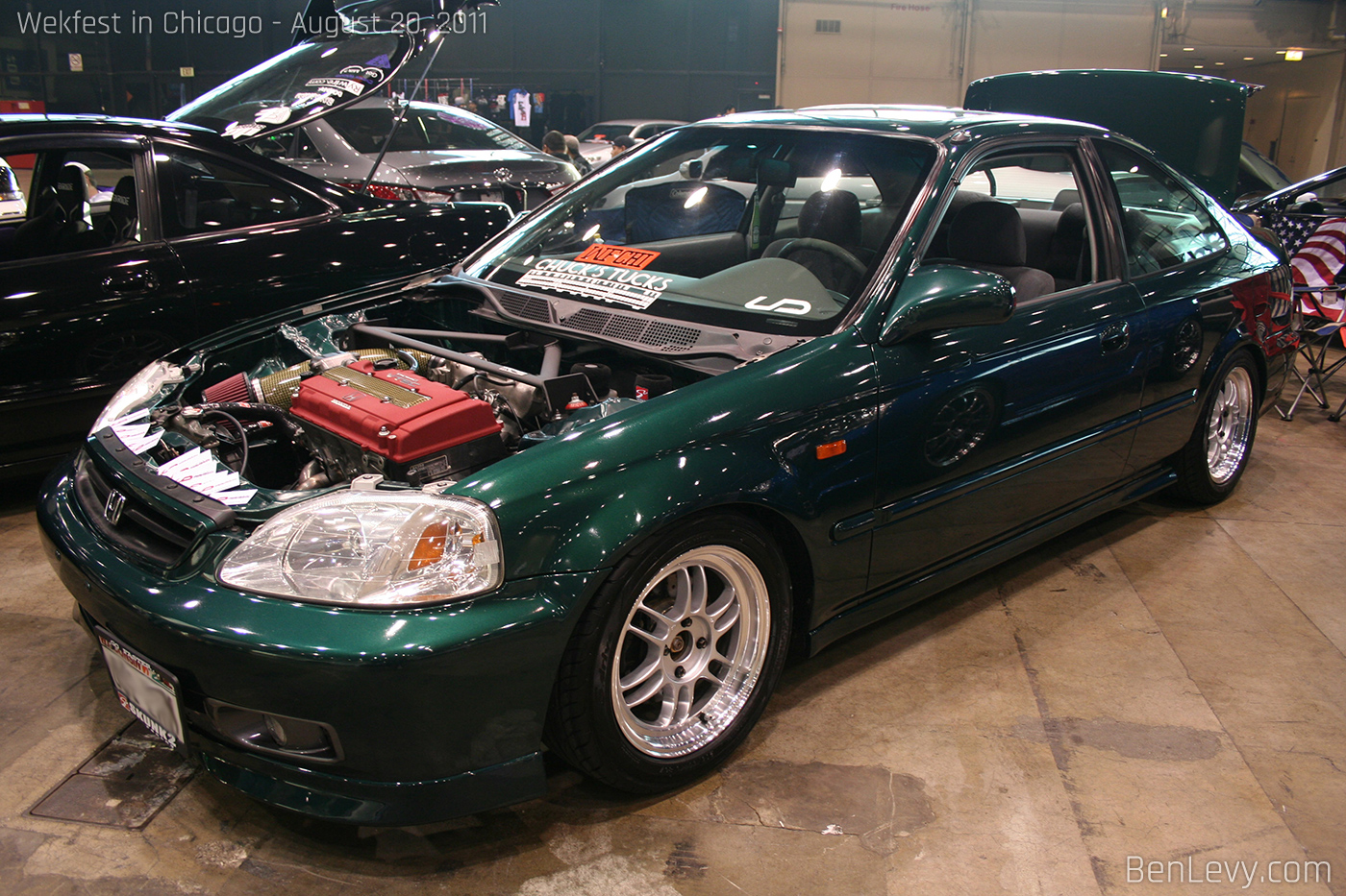 Green Civic Coupe Benlevy Com