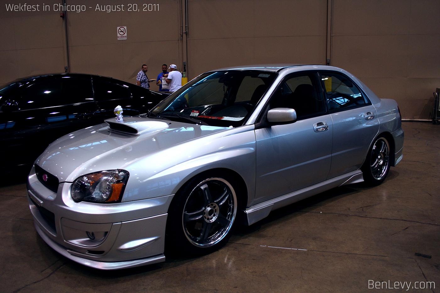 Silver Subaru Wrx Benlevy Com