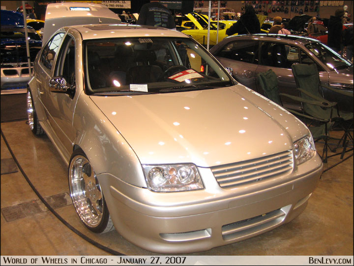 Jetta with Stubby Mirrors - BenLevy.com