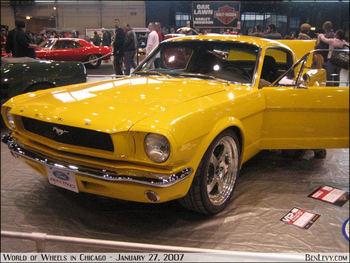 Yellow 65 Mustang Benlevy Com