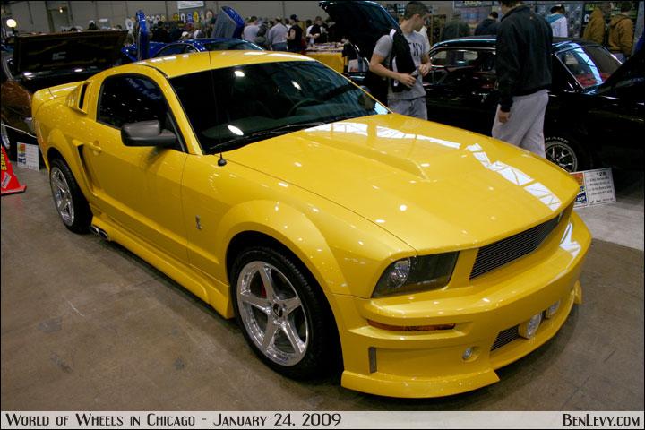 Yellow Mustang Benlevy Com