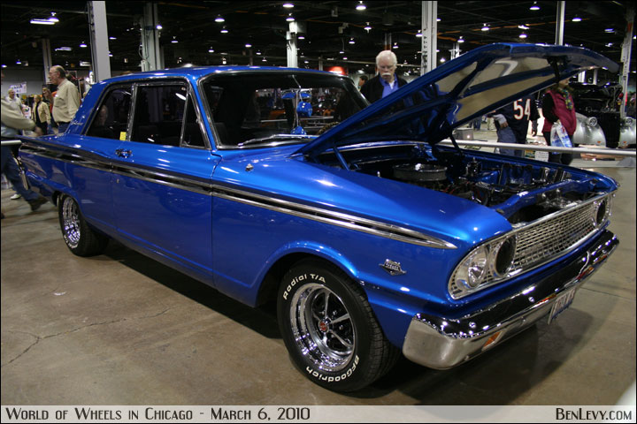 Blue Ford Fairlane 500 Benlevy Com
