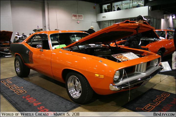 Orange 1973 Cuda 340 Benlevy Com