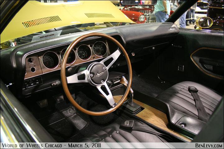 Toyota Auto Parts >> 1971 Plymouth 'Cuda Interior - BenLevy.com