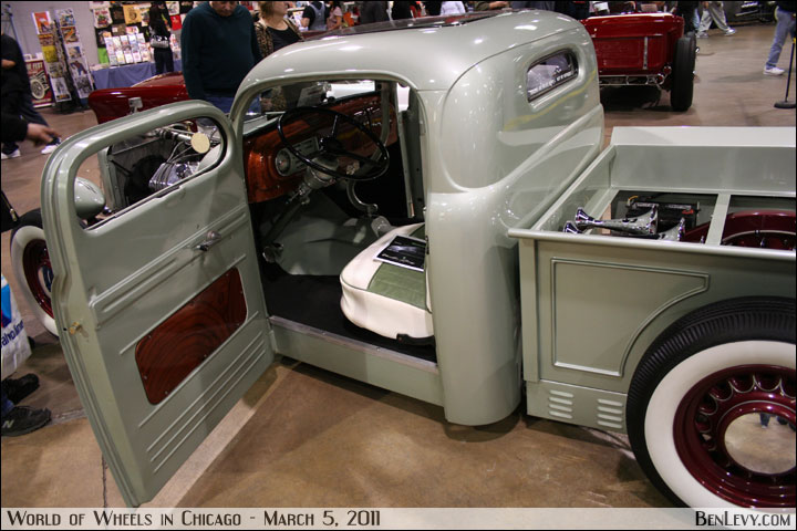 1949 ford truck with custom interior. Black Bedroom Furniture Sets. Home Design Ideas