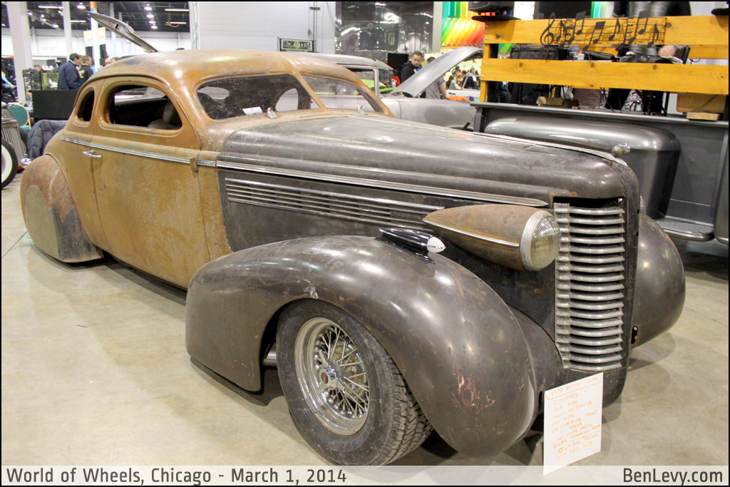 Chopped 1938 Buick Coupe Benlevy Com