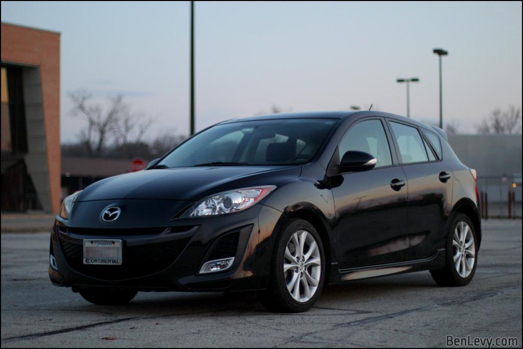 Black Mazda3 Sport